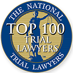 Certificate for The National TOP 100 Trial Lawyers